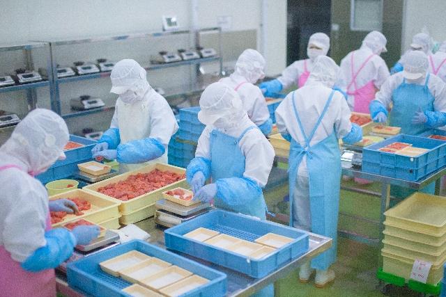 食品加工工場